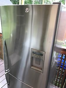 Fisher Paykel 30 inch stainless steel fridge