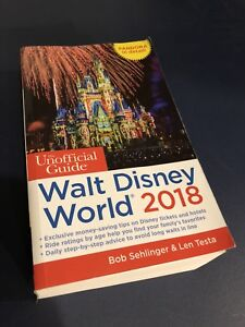 Unofficial Guide to Disney 2018