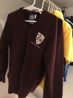 John Paul college wool pullover size 6 unisex