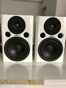 FOSTEX PMO 4n White Speakers Professional
