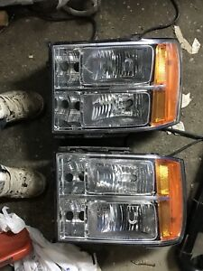 Stock headlights and taillights 2011