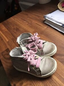 Girls shoes size 20 - Melania all leather