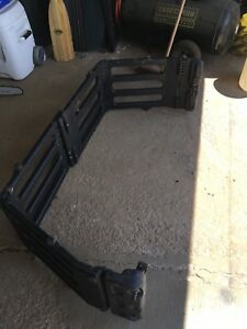 Truck bed extender
