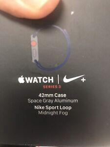 Apple watch serie 3 LTE GPS NIKE 42 mm 360$