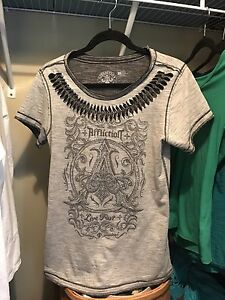 Affliction women's shirt. 30$