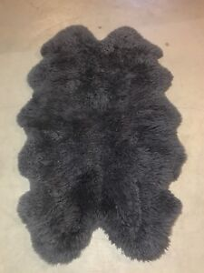 100% Real Sheep Skin Rug