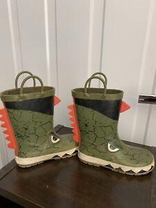 Size 11 Child/Toddler Crocodile Rain Boots- Excellent Shape!