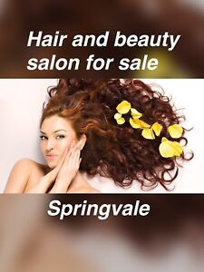 Hair and beauty salon for sale in Springvale