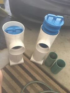 Septic tank outlet filters