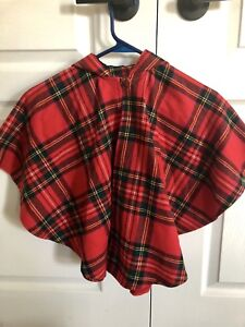 Girls Small Authentic Poncho