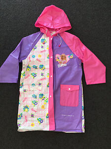 Girls Barbie Size 6-8 Raincoat Taroona Kingborough Area Preview