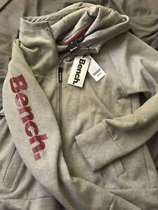 Brand New With Tags Bench. Zip up sweater