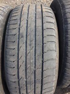 4 pneus d ete 225/50r17 nokian