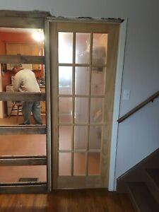 30 inch pocket door
