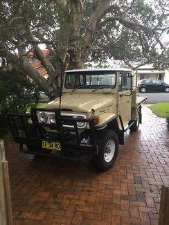 Hj47 landcruiser 4 poster bullbar and brush bars