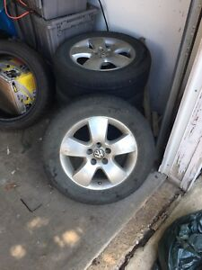 5x100 VW Jetta Wheels