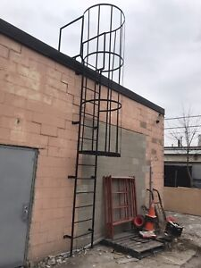 Welder and structural  steel balcony ralings