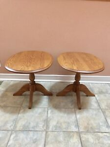 Pair of End / Side Tables