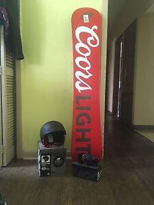 "K2 Snowboarding Gear ""Coors Light Edition"""