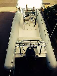 This RIB is the Ultimate in Versatile Boating Falcon Mandurah Area Preview