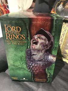 Lord of the rings  ork bust sculpture sideshow wedal