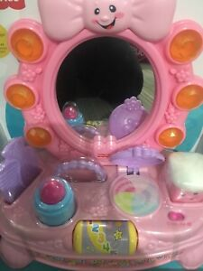 Fisher price laugh and learn musical vanity set