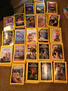 Library of national geographic dating back to 1962 $20 OBO
