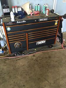 Snap on tool box want gone