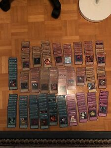 220 Yugioh Cards in excellent condition