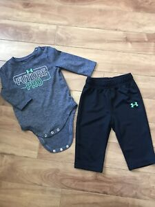 3-6 month under armour outfit