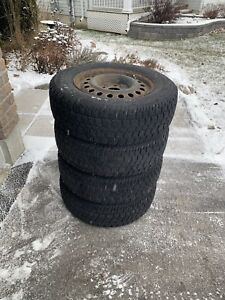 Winter tires and rims for sale. 215/70R16 Dodge Grand Caravan