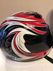 SHOEI size large helmet, perfect condition