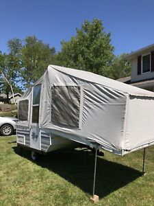 *** 1995 Bonair Camper Trailer ** GREAT FOR HUNTERS/FISHERS