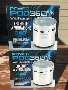 Power Pod 360 with Bluetooth