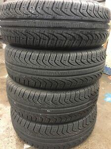 4 pneus d'été PIRELLI 195/70/r14 EXCELLENTS