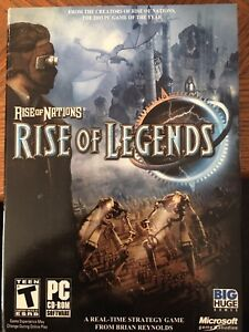 Rise of Nations, Rise of Legends For PC (Sealed)