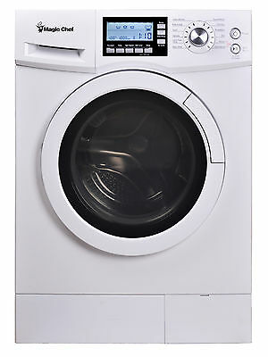"Magic Chef MCSCWD20W3 2.0 Cu Ft 24"" Wide Combo Washer Dryer Ventless 115 Volts"