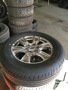 Ford F-150 Tires & Rims