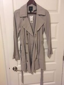 Spring Grey Trench F21 - small
