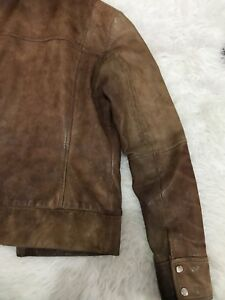 Reiss Real Leather Jacket