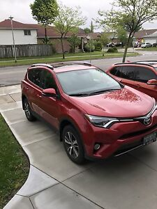 Lease takeover 2016 RAV4 XLE AWD only $202 biweekly, 16000Km