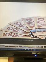 Recherche un travail payé cash comme chauffeuse livreur
