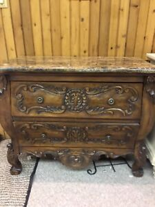 Beautiful dresser with marble too