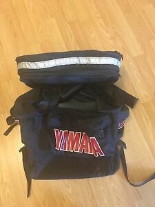 Yamaha boot and helmet bag