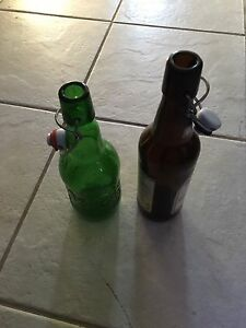 Grolsch  fliptop bottles for home brew in great shape