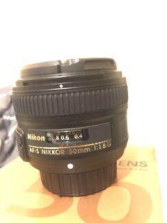 NIKON 50 mm f1.8 G