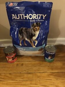 6lb dry dog food 2 cans of wet