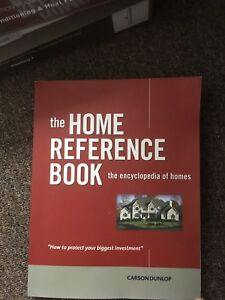 Carson Dunlop Home Inspection course books for sale