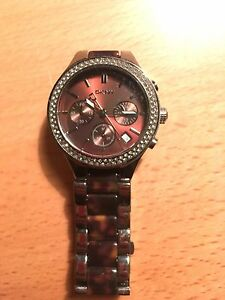 Great Price - DKNY woman's large wrist watch