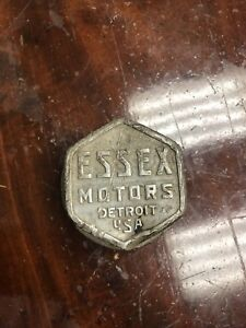 Antique Essex motors hub cap